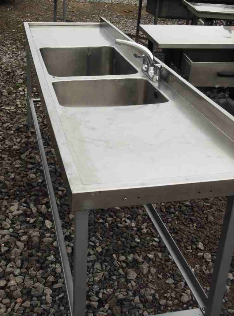 Large Stainless Steel Sinks Uk : ... Sinks and Dishwashers Stainless Steel Double Sink (1883) - Somerset