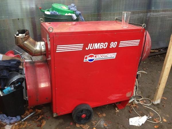 Arcotherm Jumbo 90 Heater