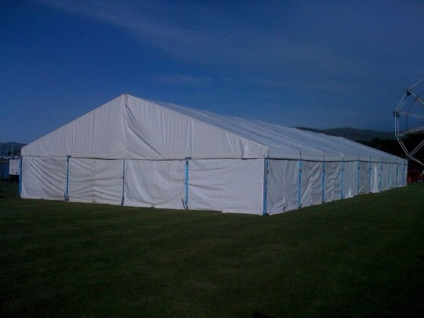 12 x 15 metre Clearspan Tectonics Marquee