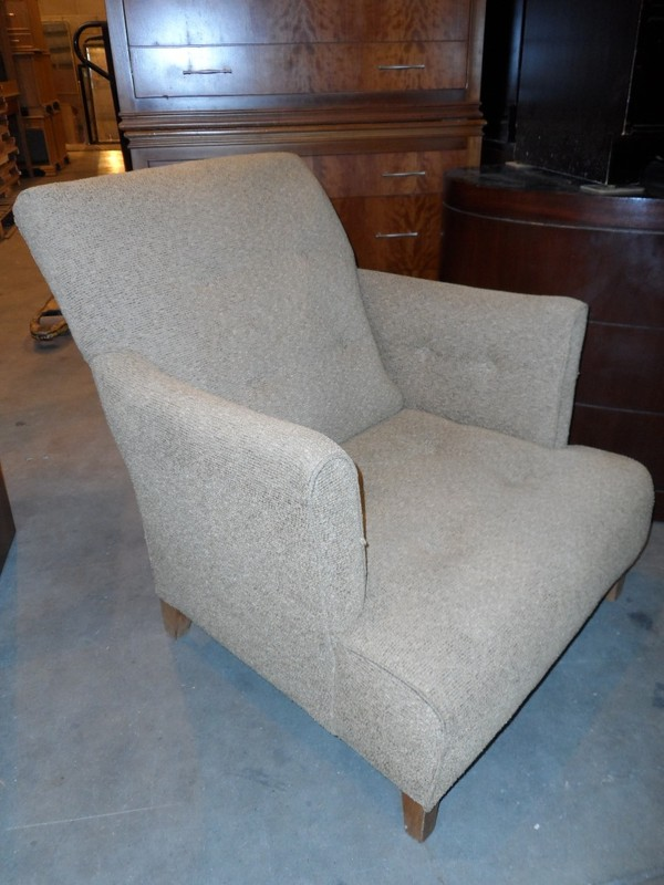 Buttoned Easy Chair