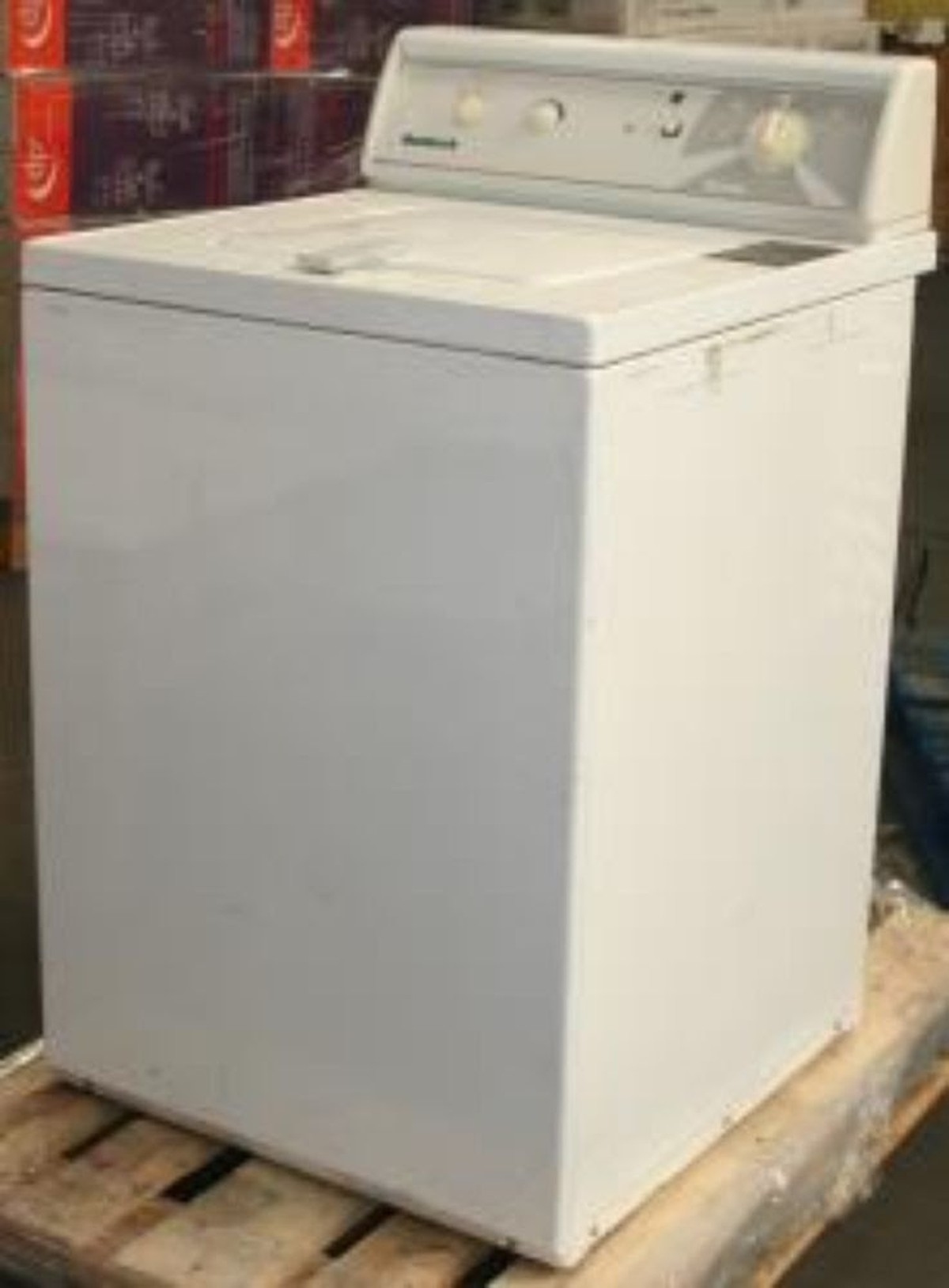 Secondhand Laundry Equipment Top Loading Washing