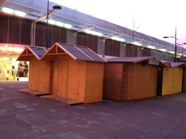 20 Christmas Market Chalets