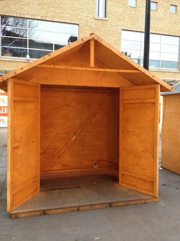 Used Christmas Market Chalets for sale