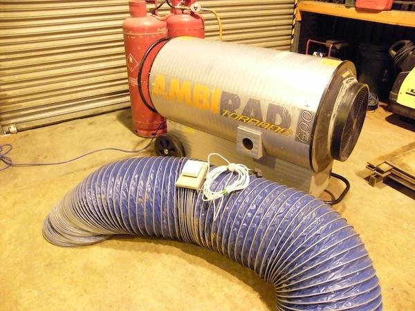 Ambi Rad 600 Gas Heater