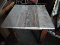 Distressed Scaffold Plank tables