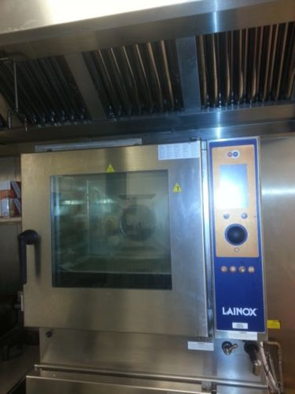 Kitchen Oven Lainox. 2 Tier HMG061X. Combi-Convection Steamer w/ Broiler