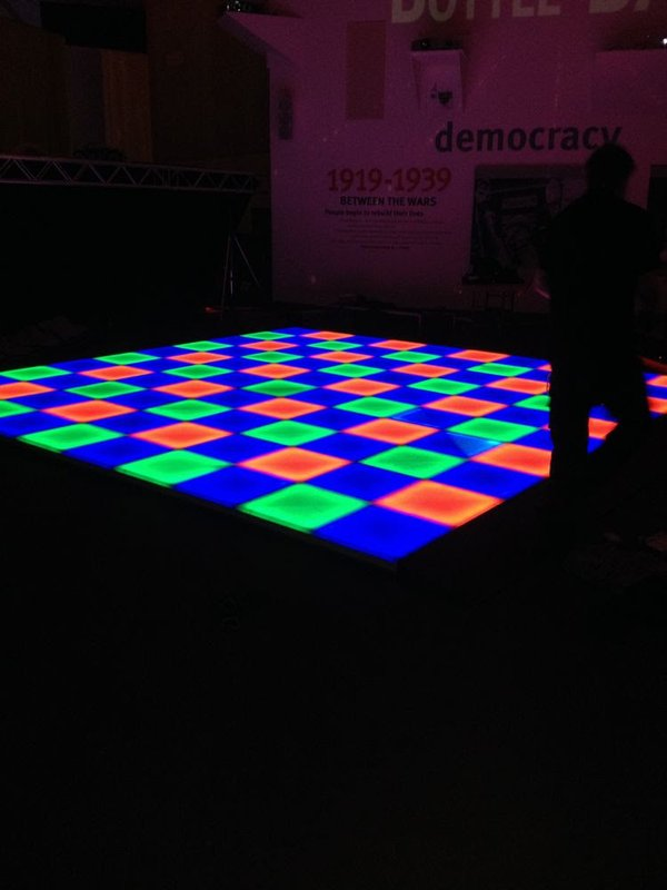 Funky LEd Dance Floor Brand new 70s/80s