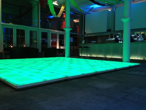 Funky LEd Floor Brand new 70s/80s