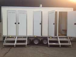 4 Bay shower unit