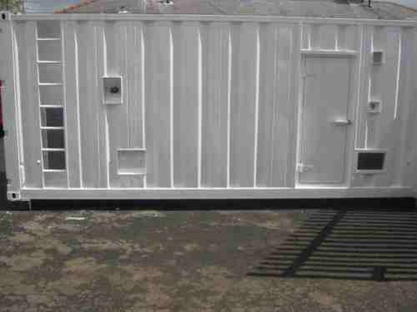 Generator in a 20ft container