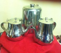 Stainless steel teapots