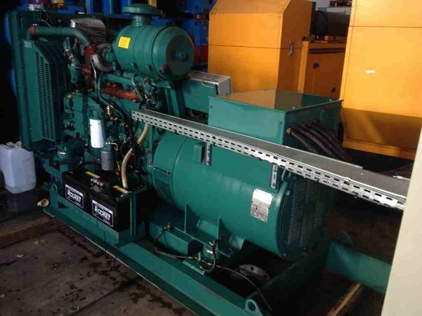 Iveco 200Kva Skid Mounted Generator