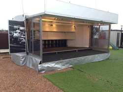 Vipex venue exhibition trailer for sale