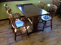 Traditional Tables and Chairs