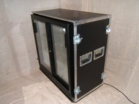 Second Hand Mobile Bar Flight Cases for Bar Fridges