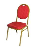 150x Quality Steel Framed Upholstered Chairs