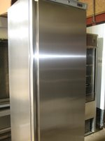 AHT Slimline Upright Stainless Steel Storage Chiller