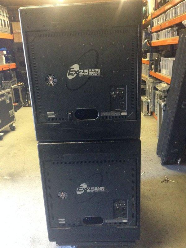 KV2 EX2.5 1600W Active Bass Bin