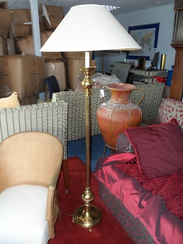 Pair of Solid Brass Standard Lights