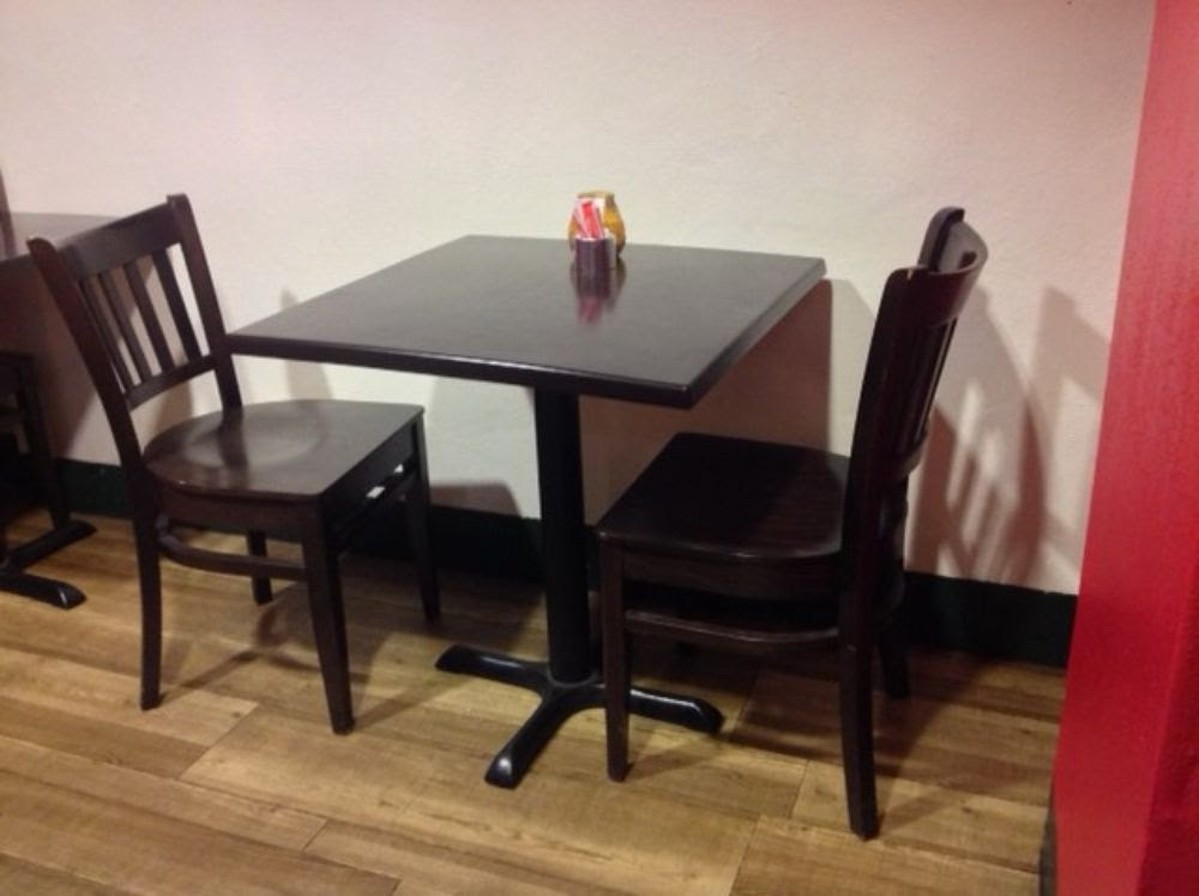 Secondhand pub equipment chairs wood table chair
