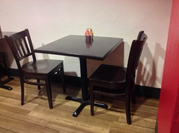 Wood Table & Chair