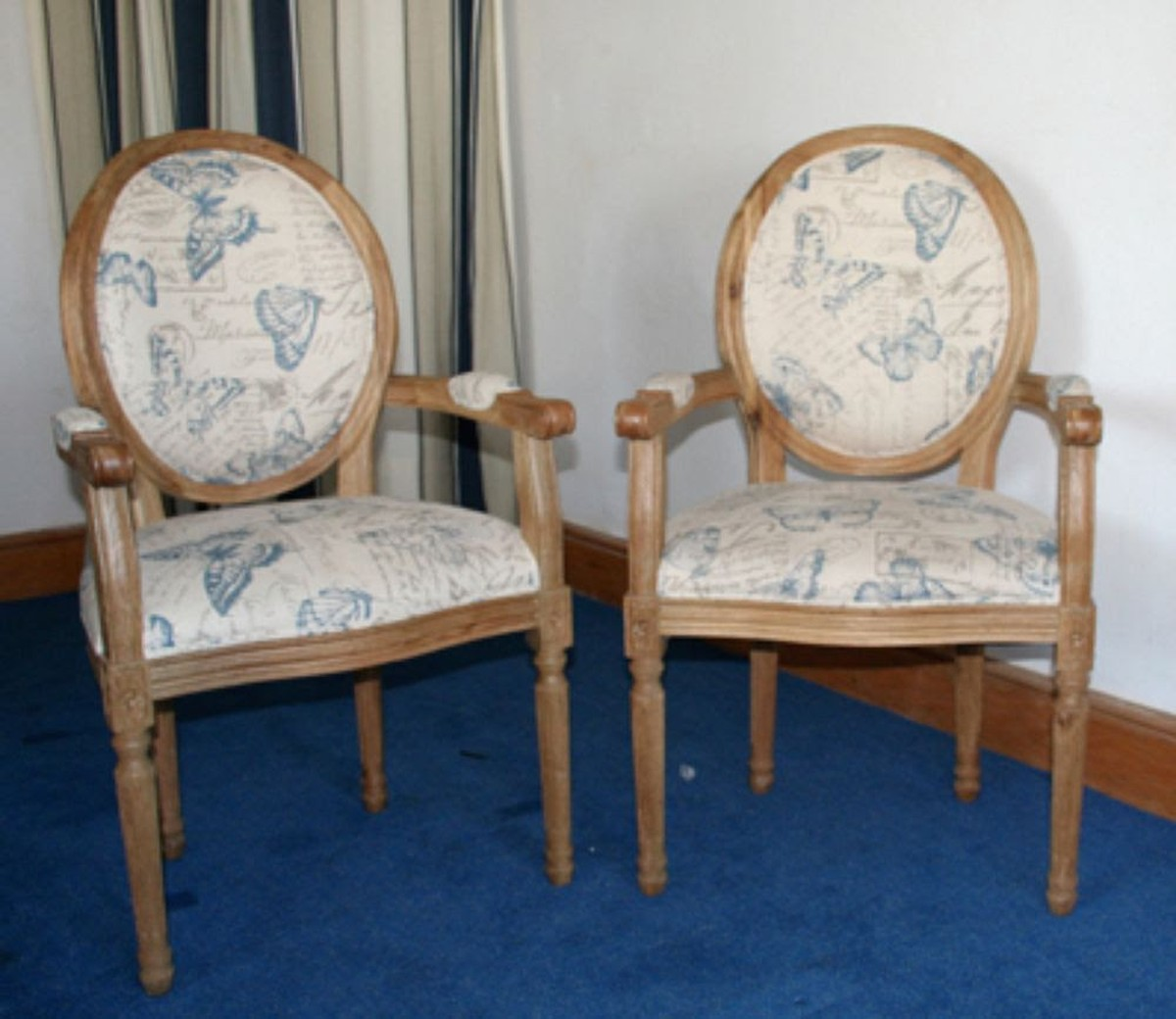 Antiques Bazaar Repro 20x Dining Chairs Louis Xiv