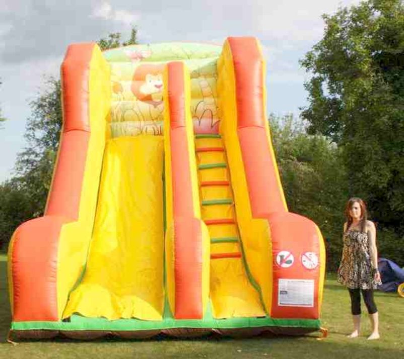 For Sale > Slide, Assault Course, Bounce & Slide And Bouncy Castle ...