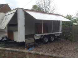 15ft Used Exhibition Trailer