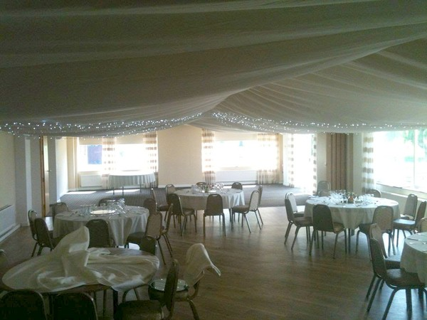 Marquee drapes