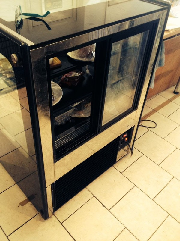 buy used  three tiered display fridge