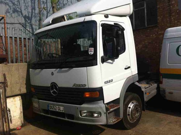 Mercedes Atego Low Mileage