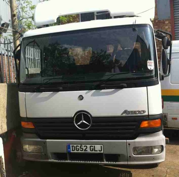 Tractor unit day cab