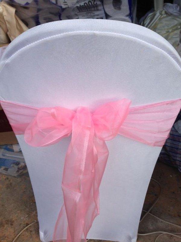 Baby pink sash