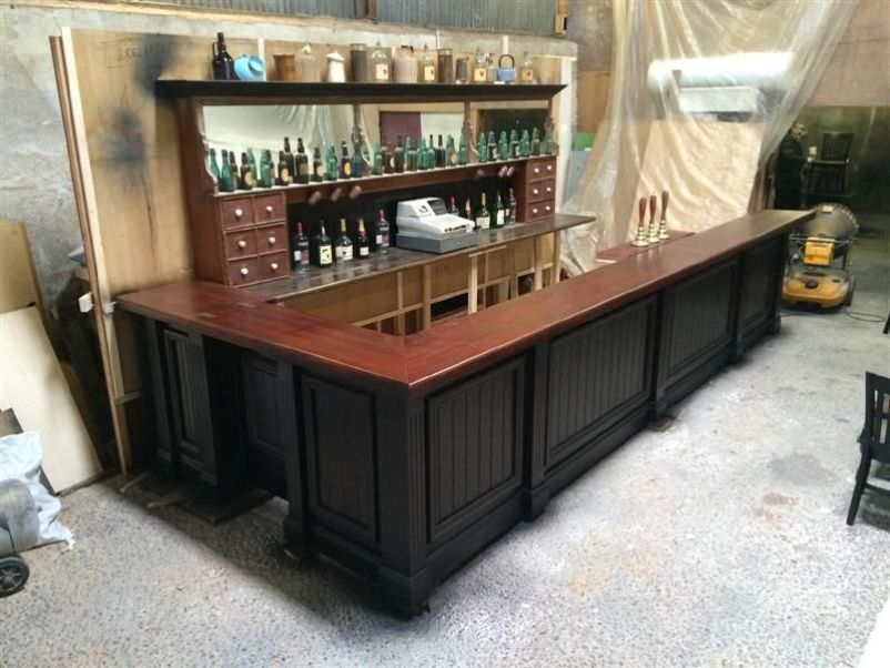Secondhand Chairs And Tables Bar Units Old Reclaimed Bar