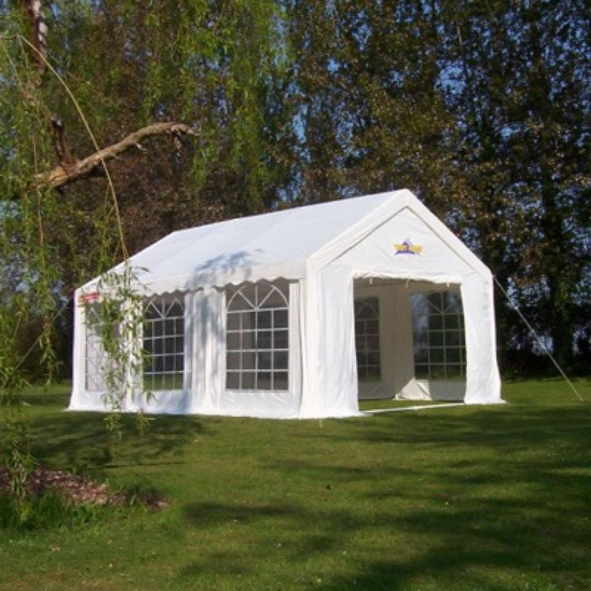 Quality gala tent & Curlew - SecondHand Marquees | Framed marquees 0 - 6m width ...