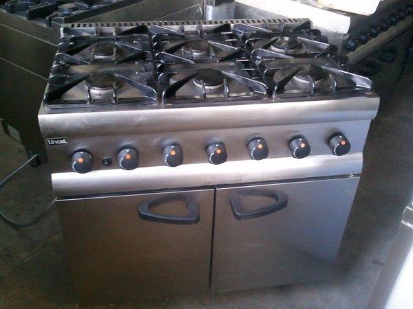 Lincat SLR9/N 6 Burner Cooker