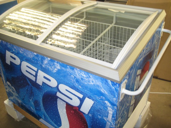 Pepsi Chest Bottle Chiller