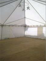 30' x 30' Armbruster Type Frame Marquee