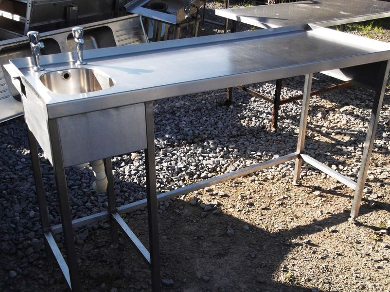Stainless Sink Table : ... Sinks and Dishwashers Stainless Steel Sink/ Table (2124