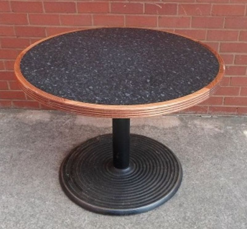 Round Cafe Tables And Chairs : Chairs and Tables  Cafe or Bistro  Round Cafe / Restaurant Tables ...