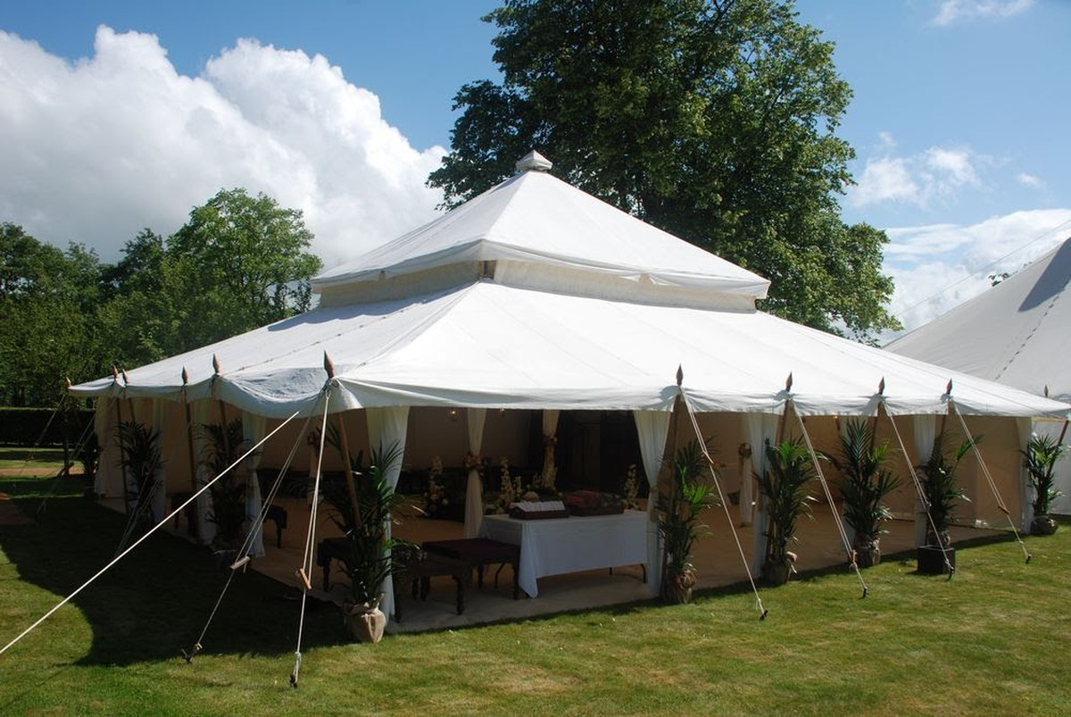 11m x 11m Mughal Tent ... & Curlew - SecondHand Marquees | Unusual Marquees | Mughal Tent - Leeds