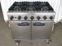 Lincat Six burner cooker LMR9-N
