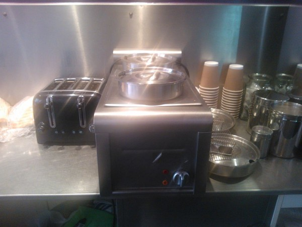 2 pot bain marie for sale