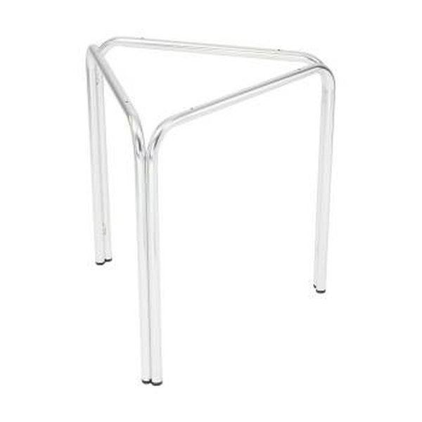 60 x Three Legged Stackable Aluminium Table Bases for Use with Round Tops