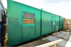 10 Bay Portable Toilet