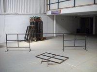 Black Steel Barrier Frames