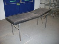 Used Medical Room First Aid Bed Examination Couch