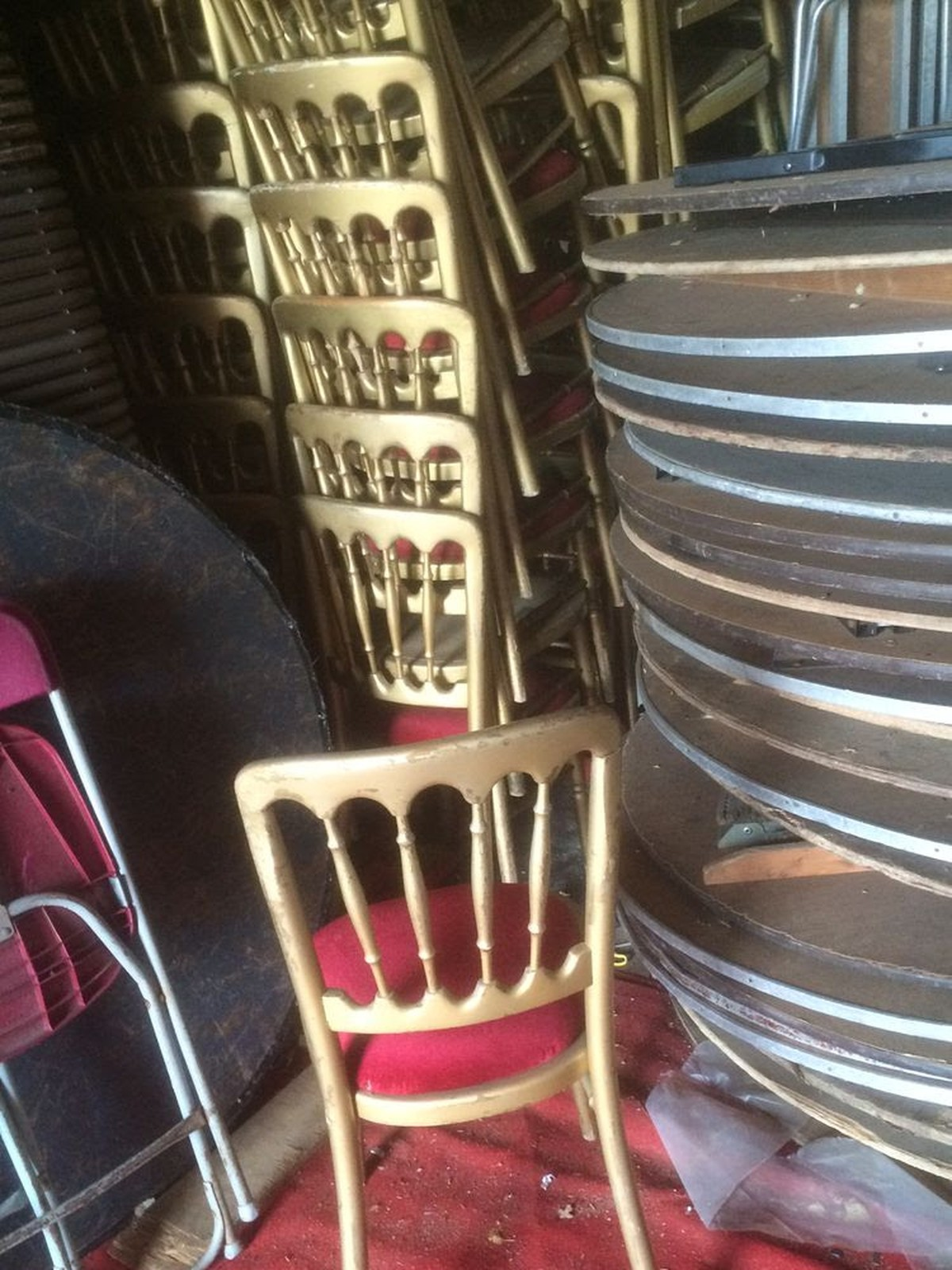 Secondhand Chairs and Tables Cheltenham Banqueting Chairs