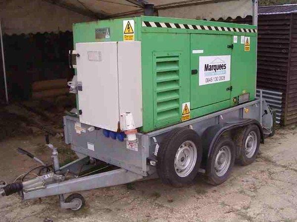43 Kva Generator, 63 amp 3 phase standby unit
