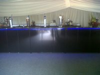 Collapsible Mobile Bar Units for outside event